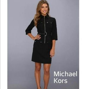 Michael Kors Black Shirt Dress!!